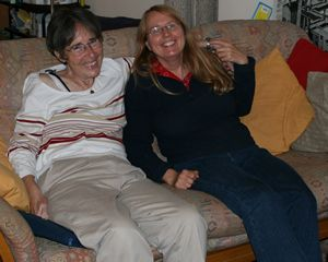 Christa and Cathy