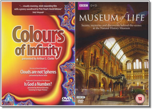 Maths and Museum DVDs